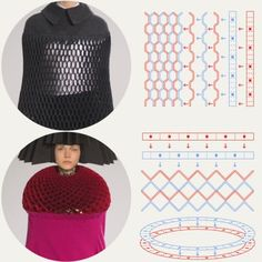 Honeycomb Pattern Structures at Junya Watanabe | The Cutting Class. Junya Watanabe, AW15, Paris.