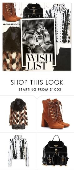 """""""#PolyPresents: Wish List III"""" by vampirella24 ❤ liked on Polyvore featuring Marc Jacobs, Prada, Altuzarra and Stolen Girlfriends Club"""
