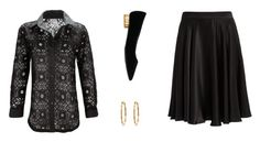 Designer Clothes, Shoes & Bags for Women Thanksgiving Outfit, Salvatore Ferragamo, Outfit Ideas, Gucci, Classic, Polyvore, Stuff To Buy, Shirts, Outfits