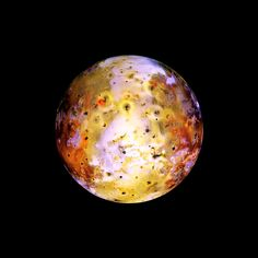 Io, the first moon of Jupiter.