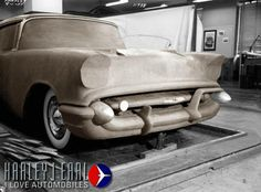 OG | 1957 Chevrolet | Full-size clay model dated 1955