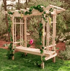 Arbor with 5'Bench | review | Kaboodle