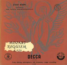 Wolfgang Amadeus Mozart: Requiem Mass in D minor, K. 626 – Wiener Hofmusikkapelle, Josef Krips (1955, Audio video) • http://facesofclassicalmusic.blogspot.gr/2014/08/wolfgang-amadeus-mozart-requiem-mass-in.html