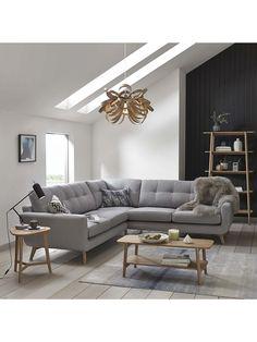 Buy John Lewis Barbican Corner Sofa, Aquaclean Blake Slate from our Sofas & Sofa Beds range at John Lewis & Partners. Seater Sofa, Living Room, Room, Living Room Sofa, Bedroom Furniture Redo, Sofa, Corner Sofa Living Room, Corner Couch, Home Decor
