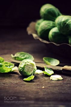 Brussels sprouts by bmo1hvbsaf  IFTTT 500px food fresh green natural vegetable