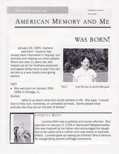 Learning from the Source: American Memory & Me Birthday Project - TPS-Barat Primary Source Nexus http://primarysourcenexus.org/2012/10/learning-from-the-source-american-memory-me-birthday-project/