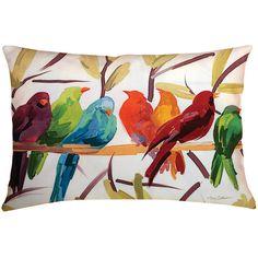 Found it at Wayfair - Osborne Birds Indoor/Outdoor Throw Pillow