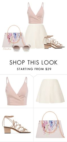 """""""summer"""" by stacy-gustin ❤ liked on Polyvore featuring Valentino, Chloé, Ted Baker, Rebecca Taylor and SimpleOutfits"""