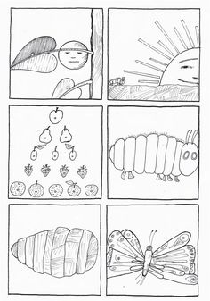 the very hungry caterpillar coloring book pdf