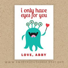 Another cute printable valentine for kids! Valentines Puns, Valentines For Kids, Funny Valentine, Valentine Day Cards, Happy Valentines Day, Valentine Gifts, Printable Valentine, Valentine Ideas, Love Notes