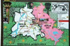 Berlin dividida en dos. 25 años ya de la caída del muro