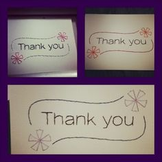 These sweet thank you cards are hand stitched by Jessie at Sew Cute Cards.   Available in a 4x6 card, and as a 5x7 or 8x10 picture.   http://sewcute.storenvy.com www.facebook.com/sewcutecards