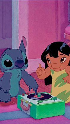 Lilo y Stitch shared by L í a. on We Heart It