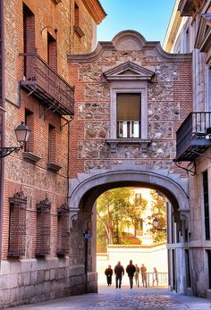 Plaza de la Villa, Madrid, Spain