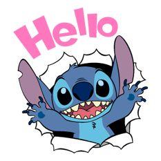 Stitch - Stickers officiels