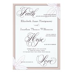 Pure white rose flowers Christian wedding Card Christian Wedding