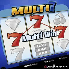 Multi Seven is a classic three-reel game that promises a lot of fun and even bigger wins thanks to its 27 paylines. As if that were not enough, you also have the big chance for various bonuses and free spins here. What are you waiting for? Try your luck!