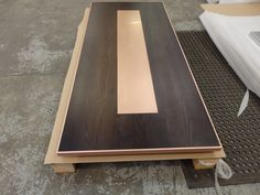 https://flic.kr/p/M3kpd8 | Copper Inlayed and Trimmed Timber Top | OLYMPUS…