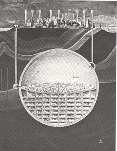 Oscar Newman's Underground City Beneath Manhattan