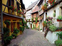 Frankreich - Elsass -  Eguisheim - France - Europa