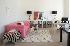 Home office inspiration <3...Ruby Press | Lonny.com