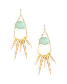 Liberty Spike Earrings - JewelMint
