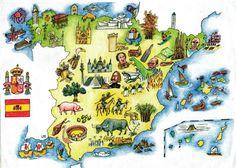 LPO (Luis Pérez Órtiz) map of cultural Spain