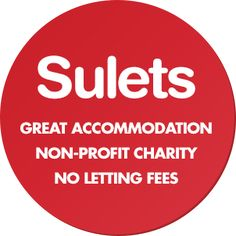 Sulets - Great accommodation, non-profit charity, no letting fees Student Living, Good Student, Non Profit, Charity, Let It Be, Sorority Sugar