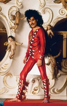 Freddie Mercury - It's so sad that Sacha Baron Cohen ist not going to play Freddie in the biopic. I fear the movie will suck if it ever will be realised.