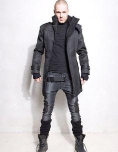 Cool long coat Demobaza