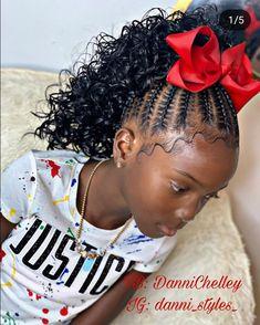 For Kids Stitch kids Updo 👌🏽 Little Girls Natural Hairstyles, Cute Little Girl Hairstyles, Baby Girl Hairstyles, Natural Hairstyles For Kids, Mixed Kids Hairstyles, Toddler Hairstyles, Kids Crochet Hairstyles, Kids Braided Hairstyles, African Braids Hairstyles