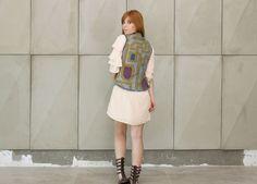 Colete jeans dupla face da marca Coleteria ♡ - Coletes exclusivos | feminino e infantil | Coleteria ♡