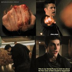 "#Shadowhunters 2x09 ""Bound by Blood"""