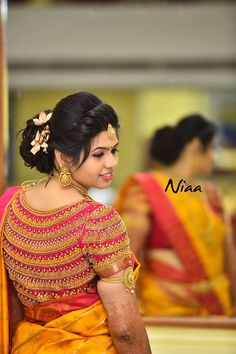 15 Awesome Saree Blouse Designs for Weddings - FashionShala Cutwork Blouse Designs, Kids Blouse Designs, Hand Work Blouse Design, Wedding Saree Blouse Designs, Pattu Saree Blouse Designs, Stylish Blouse Design, Blouse Neck Designs, Salwar Designs, Sleeve Designs