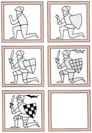 Resultat d'imatges de how to draw a medieval knight