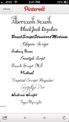 Calligraphy fonts, Letters and Fonts on Pinterest