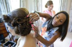 Padding ,braids and curls another Hair Hostess bride. Hair Specialist, Braids With Curls, Bridal Hair, Your Hair, Wedding Hairstyles, Stylists, Dreadlocks, Hair Styles, Brides