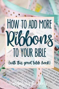 How to make Bible Ri
