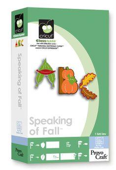Cricut® Speaking of Fall Classmate™ Cartridge $29.99 http://www.cricut.com/Shopping/detail--Cricut-Speaking-of-Fall-Classmate-Cartridge-0-137.aspx