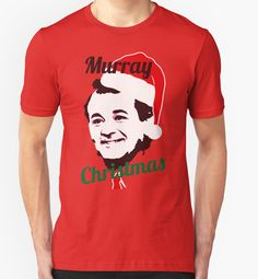 Murray Christmas by TeeAgromenaguer #tee #tshirt #merryxmas #bill #murray #christmas #merry #cool #funny