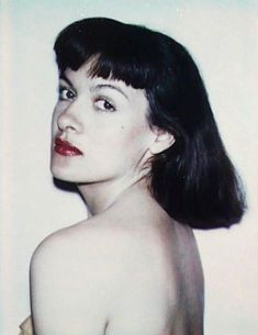 Paloma Picasso ritratta da Andy Warhol