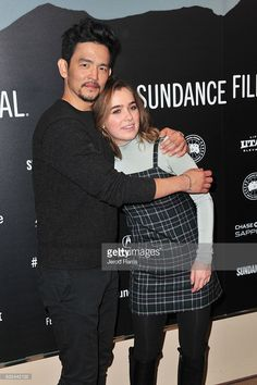 Actors John Cho (L) and Haley Lu Richardson attend the 'Columbus' Premiere on day 4 of the 2017 Sundance Film Festival at Egyptian Theatre on January 22, 2017 in Park City, Utah.