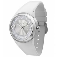 ¡Puesto queda genial! Reloj Blanco Swarovski Plateados Odm Starz http://www.tutunca.es/reloj-blanco-swarovski-plateados-odm-starz