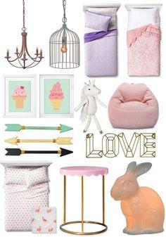 Pillowfort Kids Decor at Target! - Kids Decor | Kids Room | Modern | Toddler | Flamingo www.styleyoursenses.com