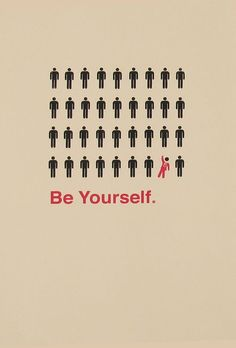 Be yourself! #Quotes