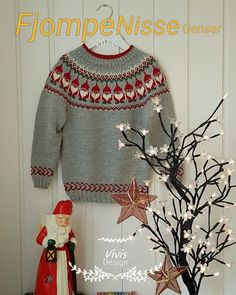 Christmas Sweaters, Diy And Crafts, Knitting, Barn, Design, House, Fashion, Knits, Dots