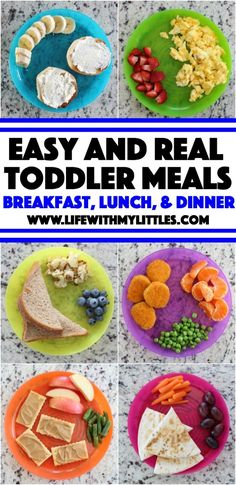 Easy {and Real} Toddler Meal Ideas - Life With My Littles - Easy {and real} toddler meal ideas for everyday, busy moms. The best suggestions for breakfast, lunch, dinner, and snacks! Easy {and Real} Toddler Meal Ideas – Life With My Littles Healthy Toddler Meals, Healthy Kids, Easy Toddler Snacks, Toddler Lunchbox Ideas, Toddler Menu, Simple Snacks, Healthy Snacks, Lunch Snacks, Clean Eating Snacks