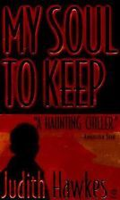 My Soul To Keep  by Judith Hawkes. One of the best spooky ghost stories ever! I keep asking amazon to PLEASE put this woman's books on kindle. She is wonderful. (No resonse from amazon yet).