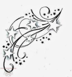 Star Foot Tattoos For Women | tattoos designs flower photos videos news tattoos designs flower ... I want something like this behind my ear