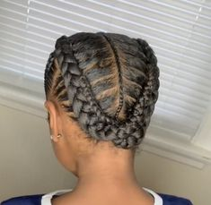 Kids Curly Hairstyles, Natural Hairstyles For Kids, Baby Girl Hairstyles, African Braids Hairstyles, Winter Hairstyles, Cool Hairstyles, Natural Hair Braids, Natural Hair Styles, Kid Braid Styles